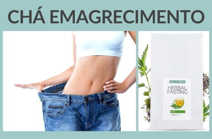 Chá emagrecimento herbal fasting